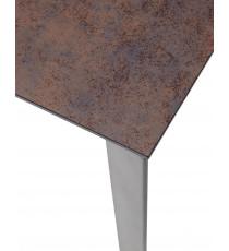 Стол CORNER 120 Glazed Glass Moss+Grey1