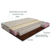 Матрас 110х195 микропакет комби латекс memory foam