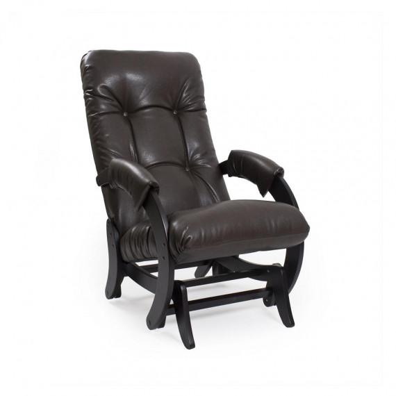 Кресло глайдер МИ Модель 68, Венге, к/з Vegas Lite Amber