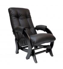 Кресло глайдер МИ Модель 68, Венге, к/з Dundi 108