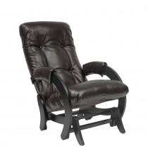Кресло глайдер МИ Модель 68, Венге, к/з Oregon perlamutr 120