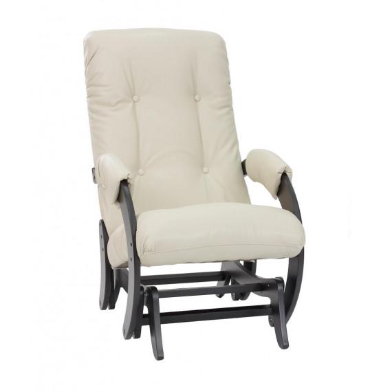 Кресло глайдер МИ Модель 68, Венге, к/з Polaris Beige