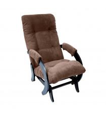 Кресло глайдер МИ Модель 68, Венге, ткань Verona Brown