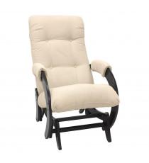 Кресло глайдер МИ Модель 68, Венге, ткань Verona Vanilla