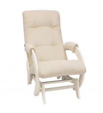 Кресло глайдер МИ Модель 68, Дуб шампань, ткань Verona Vanilla