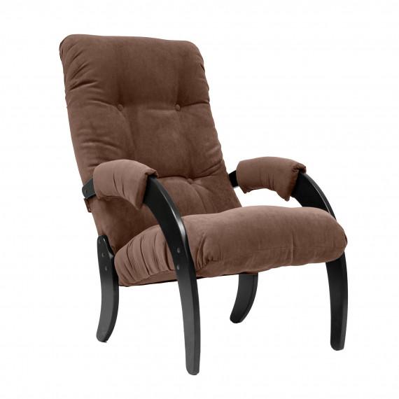 Кресло для отдыха МИ Модель 61, Венге, ткань Verona Brown