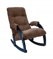 Кресло качалка МИ Модель 67, Венге, ткань Verona Brown