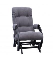 Кресло глайдер МИ Модель 68, Венге, ткань Verona Antrazite Grey