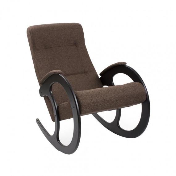 Кресло качалка МИ Модель 3 венге, Венге, ткань Malta 15 А
