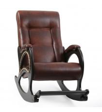Кресло качалка МИ Модель 44 венге, Венге, к/з Antik crocodile