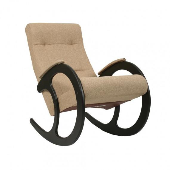 Кресло качалка МИ Модель 3 венге, Венге, ткань Malta 03 А