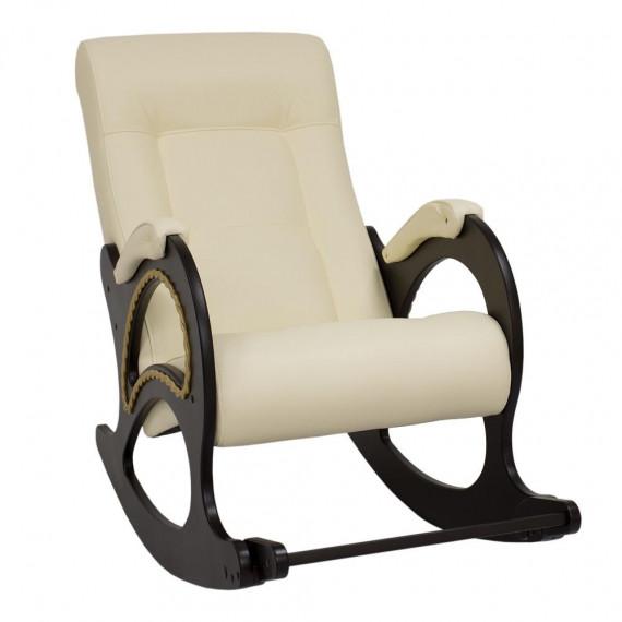 Кресло качалка МИ Модель 44 венге, Венге, к/з Dundi 112