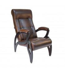 Кресло для отдыха МИ Модель 51 венге, Венге, к/з Antik crocodile