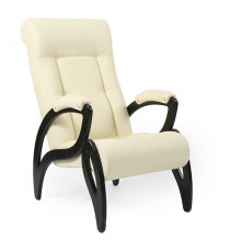 Кресло для отдыха МИ Модель 51 венге, Венге, к/з Dundi 112
