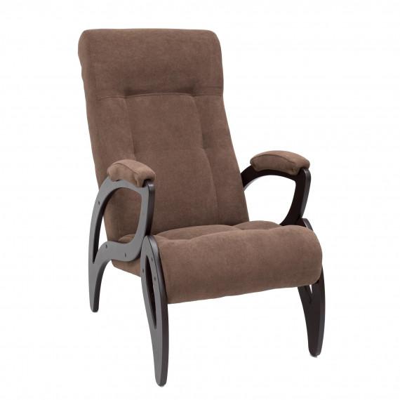 Кресло для отдыха МИ Модель 51 венге, Венге, ткань Verona Brown