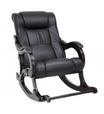Кресло качалка МИ Модель 77 венге, Венге, к/з Dundi 109