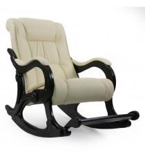 Кресло качалка МИ Модель 77 венге, Венге, к/з Dundi 112