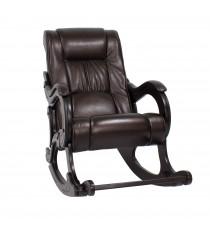 Кресло качалка МИ Модель 77 венге, Венге, к/з Oregon perlamutr 120