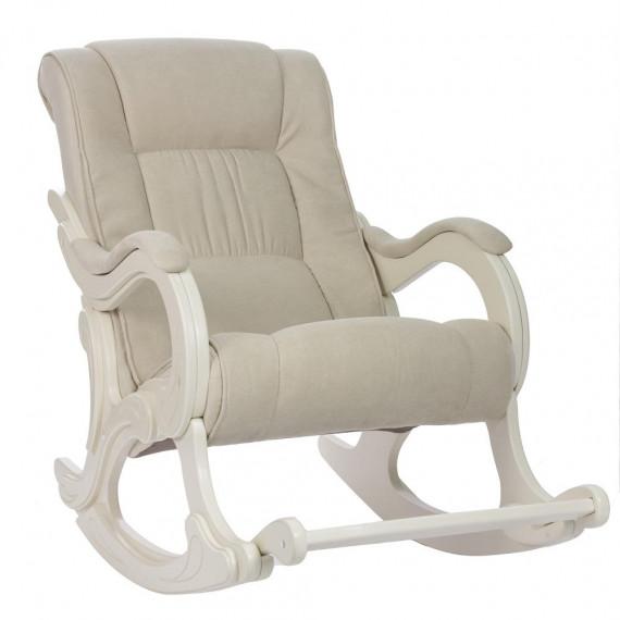 Кресло качалка МИ Модель 77 дуб шампань, Дуб шампань, ткань Verona Vanilla