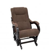 Кресло глайдер МИ Модель 78 венге, Венге, ткань Verona Brown