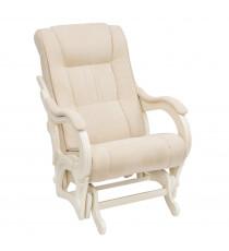 Кресло глайдер МИ Модель 78 дуб шампань, Дуб шампань, ткань Verona Vanilla