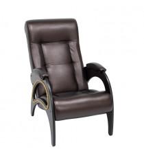 Кресло для отдыха МИ Модель 41 венге, Венге, к/з Oregon perlamutr 120