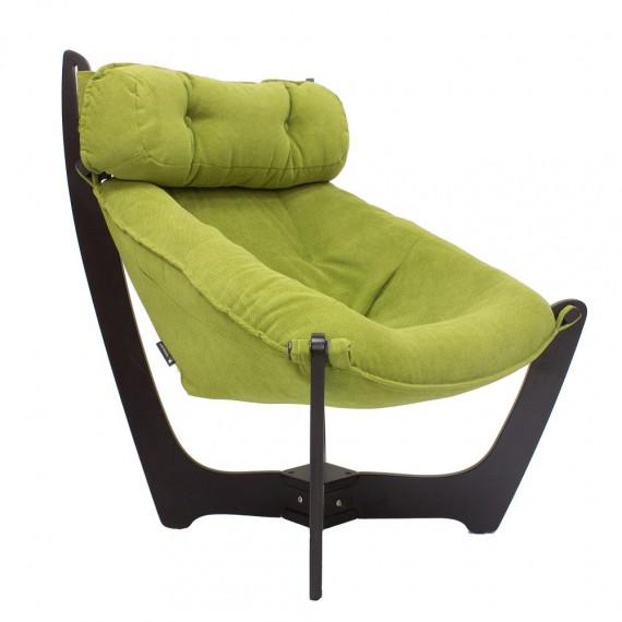 Кресло для отдыха МИ Модель 11 венге, Венге, ткань Verona Apple Green