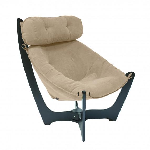 Кресло для отдыха МИ Модель 11 венге, Венге, ткань Verona Vanilla