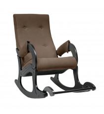 Кресло качалка МИ Модель 707, Венге, ткань Verona Brown