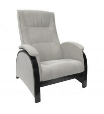 Кресло глайдер МИ Модель Balance 2 , Венге/шпон, ткань Verona Light Grey