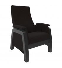 Кресло глайдер МИ Модель Balance 1, Венге/шпон, ткань Montana 100