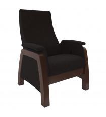 Кресло глайдер МИ Модель Balance 1, Орех/шпон, ткань Montana 100