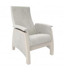 Кресло глайдер МИ Модель Balance 1, Дуб шампань/шпон, ткань Verona Ligh Grey