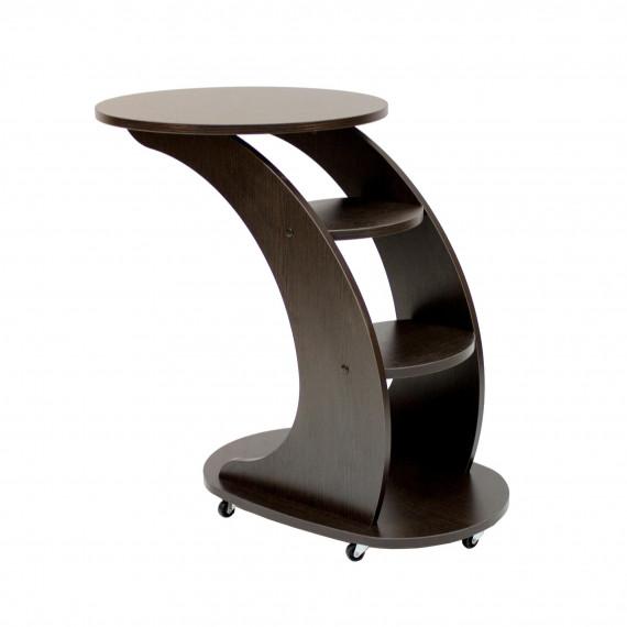 """Подкатной столик МИ """"Стелс"""", Венге"""