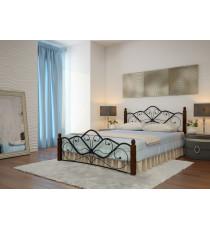 Кровать Венера 1 Черный - шоколад 160