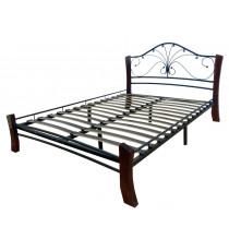 Кровать Фортуна 4 ЛАЙТ ЧШ 120
