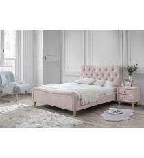 Кровать SWEET JAZMIN 160*200 ткань Grey 2