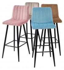 Барный стул DERRY G108-27 террариумный мох, велюр