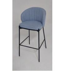 Барный стул WENDY TRF-10 небесно-голубой, ткань