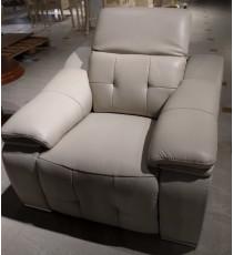 Кресло реклайнер электро MK-4726-WT Серый жемчуг