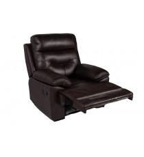 Кресло реклайнер MK-4705-BRL Темно-коричневый