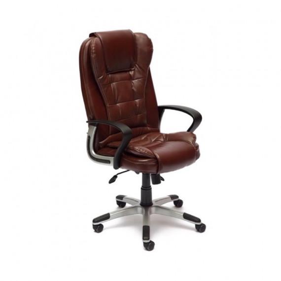 Кресло офисное BARON (Искусств. коричн. перфор. кожа 2 TONE)