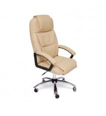 Кресло BERGAMO (хром иск. кожа, бежевый)