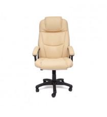 Кресло офисное BERGAMO (иск. кожа, бежевый)