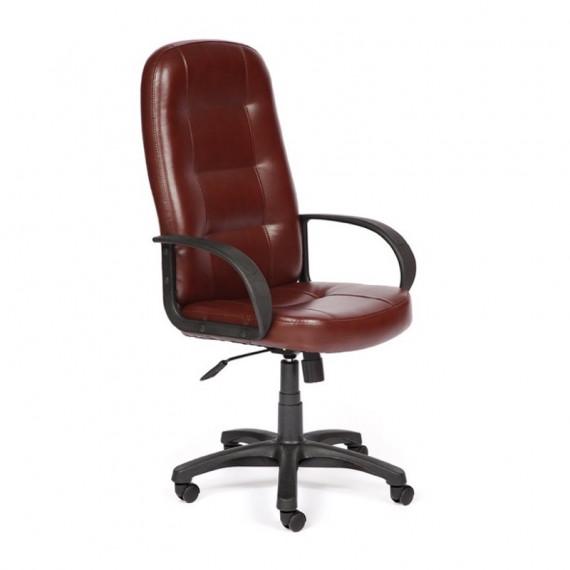 Кресло DEVON коричневое 2 TONE с экокожей