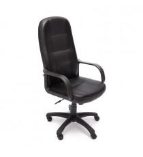 Кресло DEVON черное перфорированное