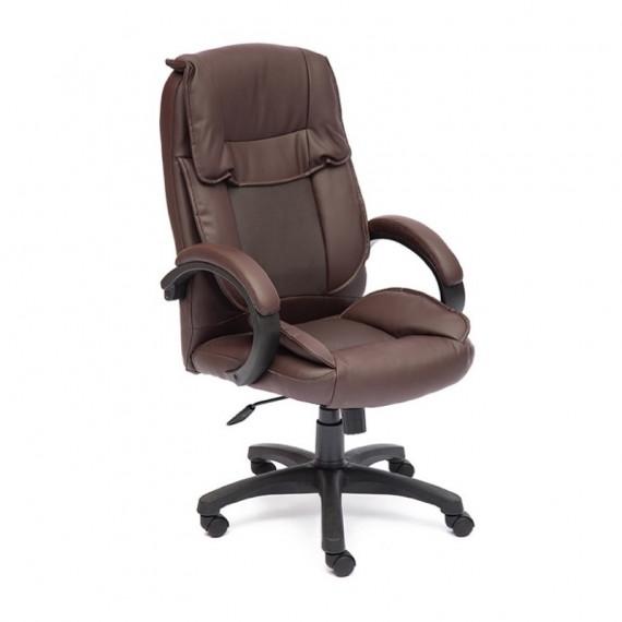Кресло компьютерное OREON (иск. кожа, Коричневый)