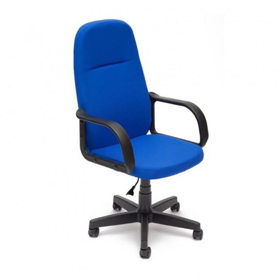 Кресло офисное LEADER (ткань / cиний)