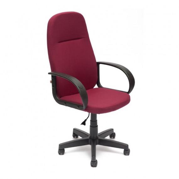 Кресло офисное LEADER (ткань / бордо)