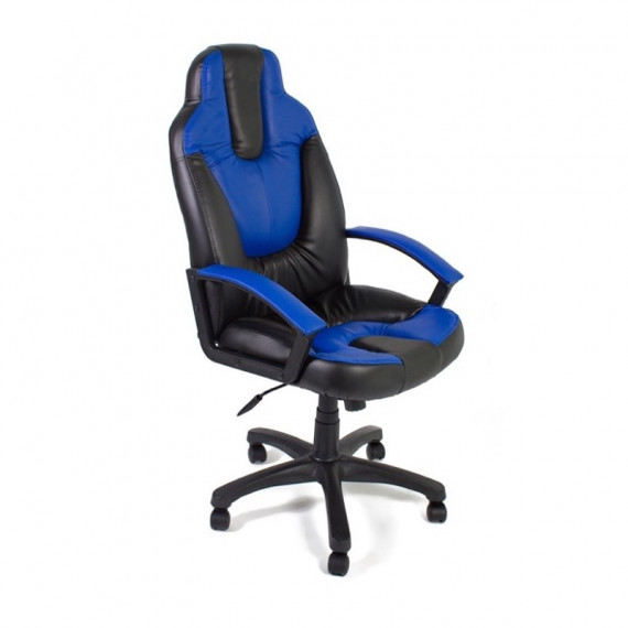 Кресло NEO2 офисное черное / синее